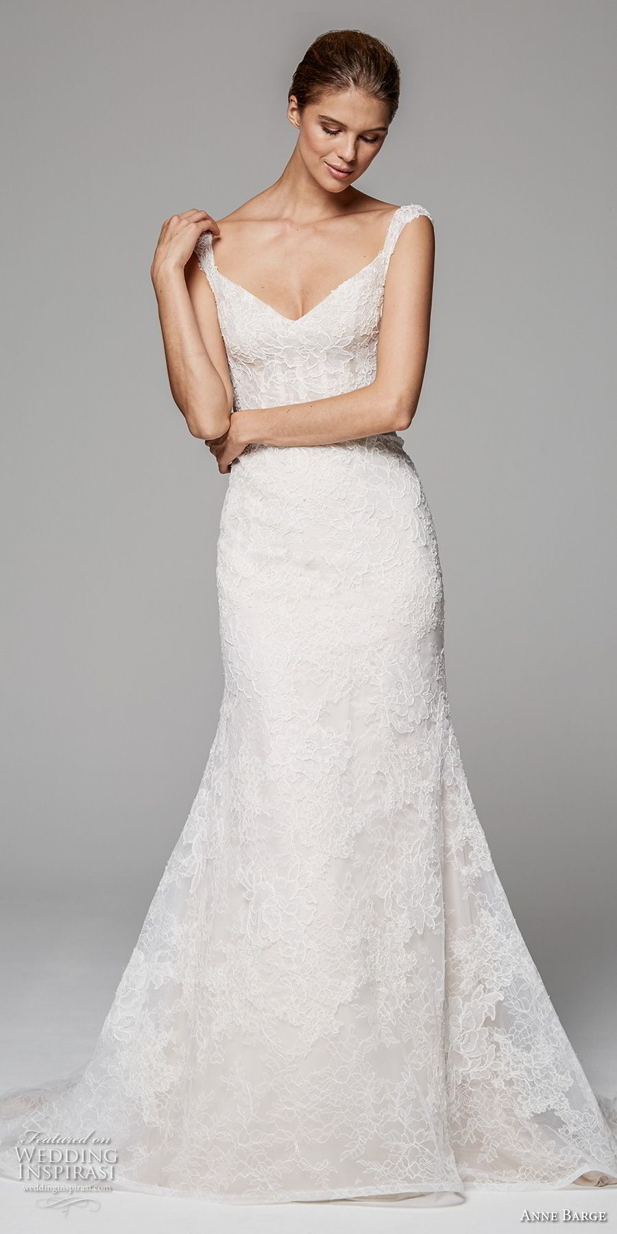 anne barge fall 2018 bridal sleeveless with strap v neck full embellishment elegant a line wedding dress sweep train (2) mv