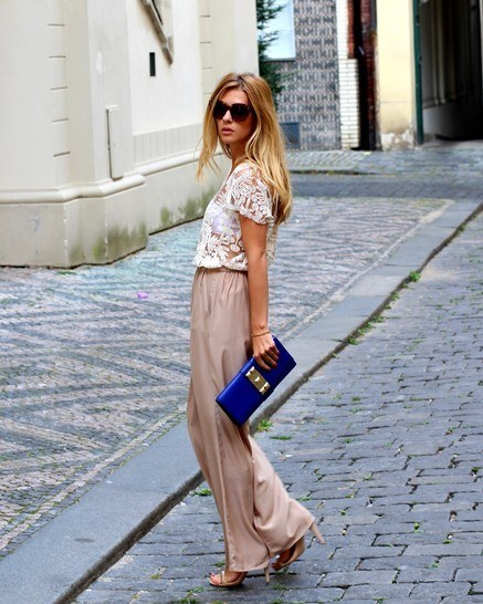 stylish-palazzo-pants-for-women 28 Modern ways to Wear Palazzo Pants with other Outfits