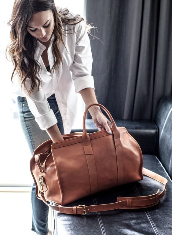 medium-sized bag for a casual outfit