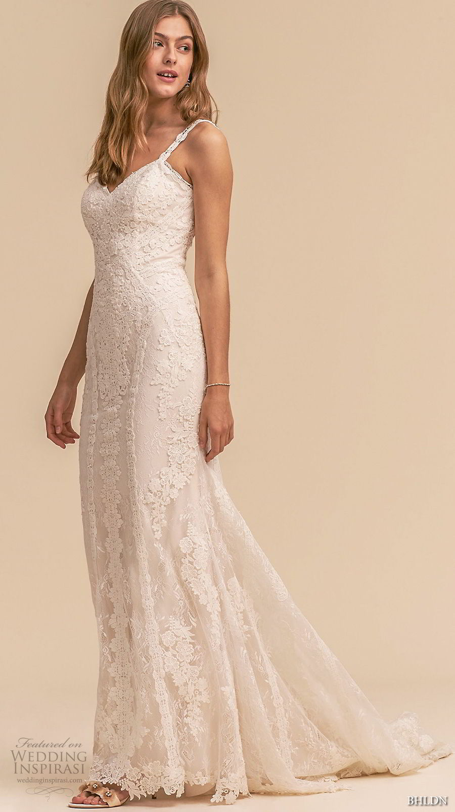 bhldn 2018 whispers bridal sleeveless thin strap sweetheart full embellishment elegant romantic sheath wedding dress sweep train (9) mv