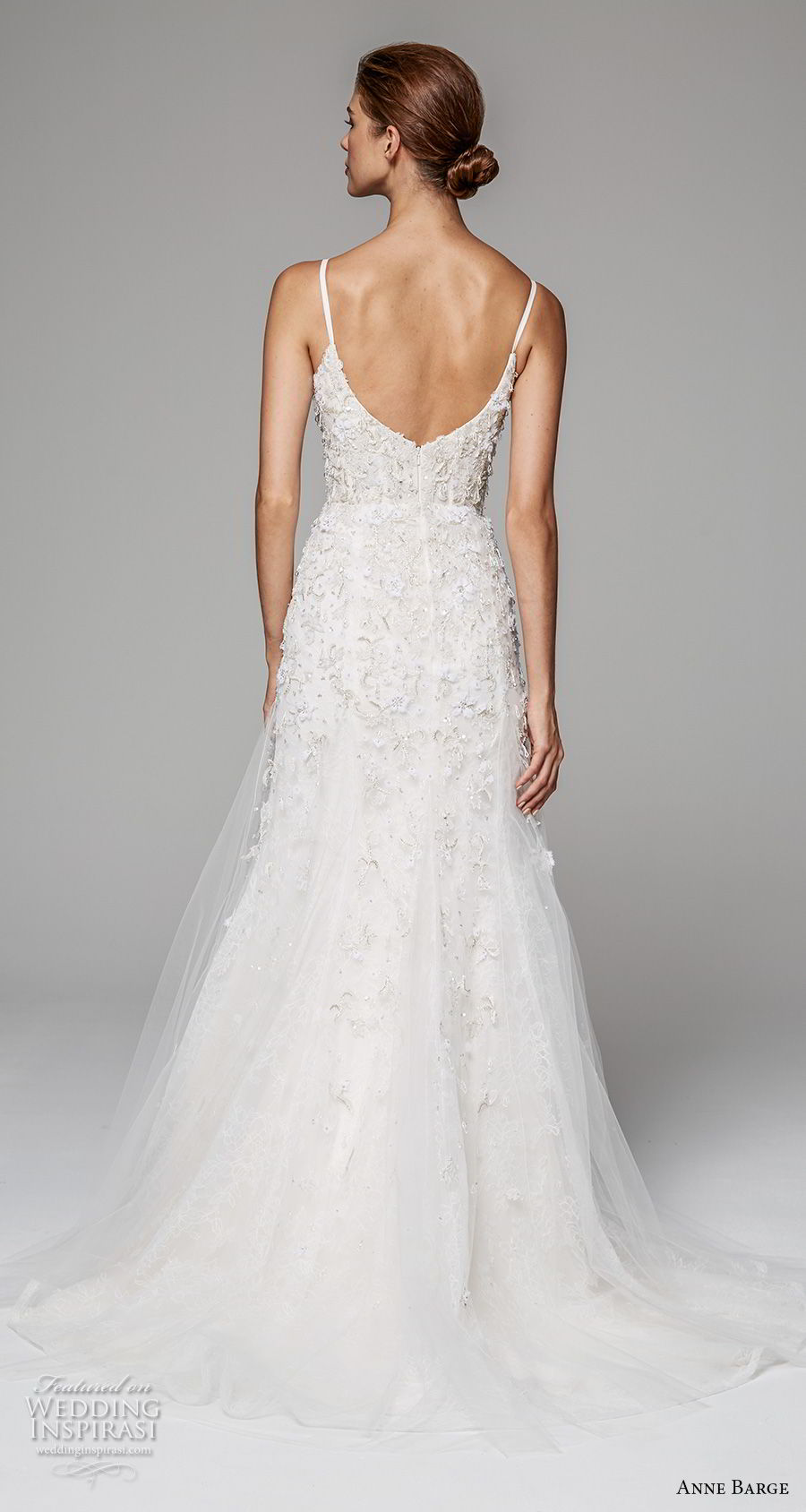 anne barge fall 2018 bridal sleeveless spaghetti strap sweetheart neckline heavily embeliished bodice romantic a line wedding dress open scoop back sweep train (9) bv