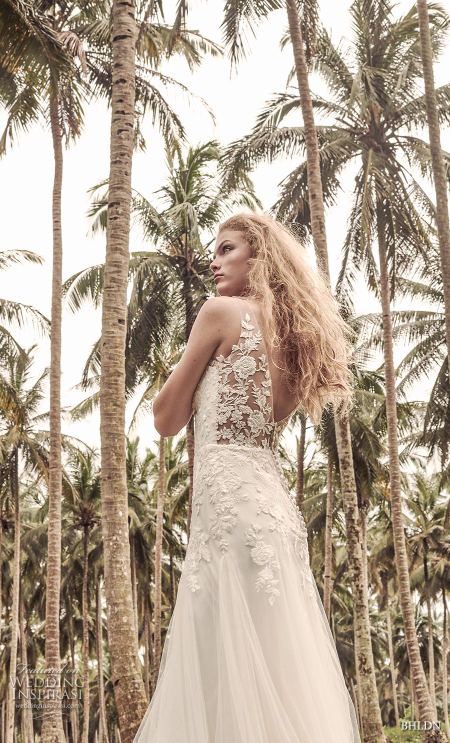 bhldn 2018 whispers bridal sleeveless v neck heavily embellished bodice romantic a line wedding dress v back sweep train (8) bv