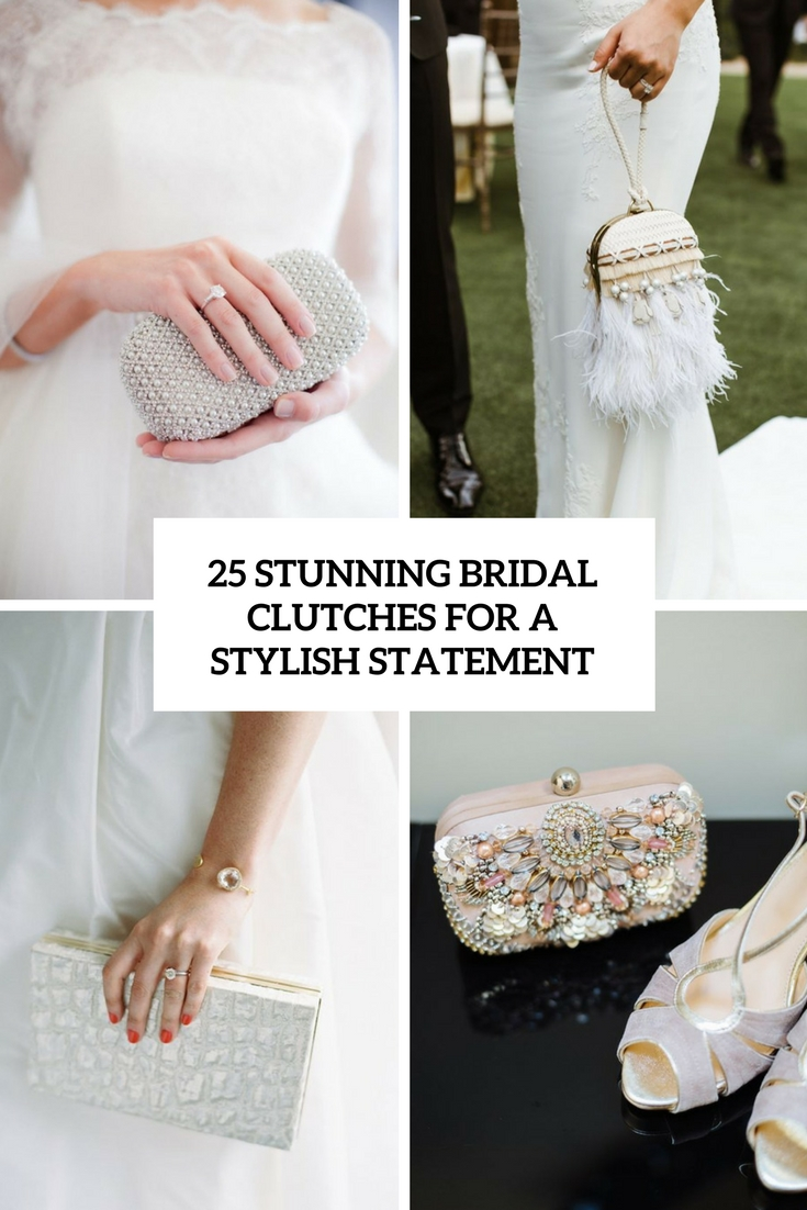 stunning bridal clutches for a stylish statement cover