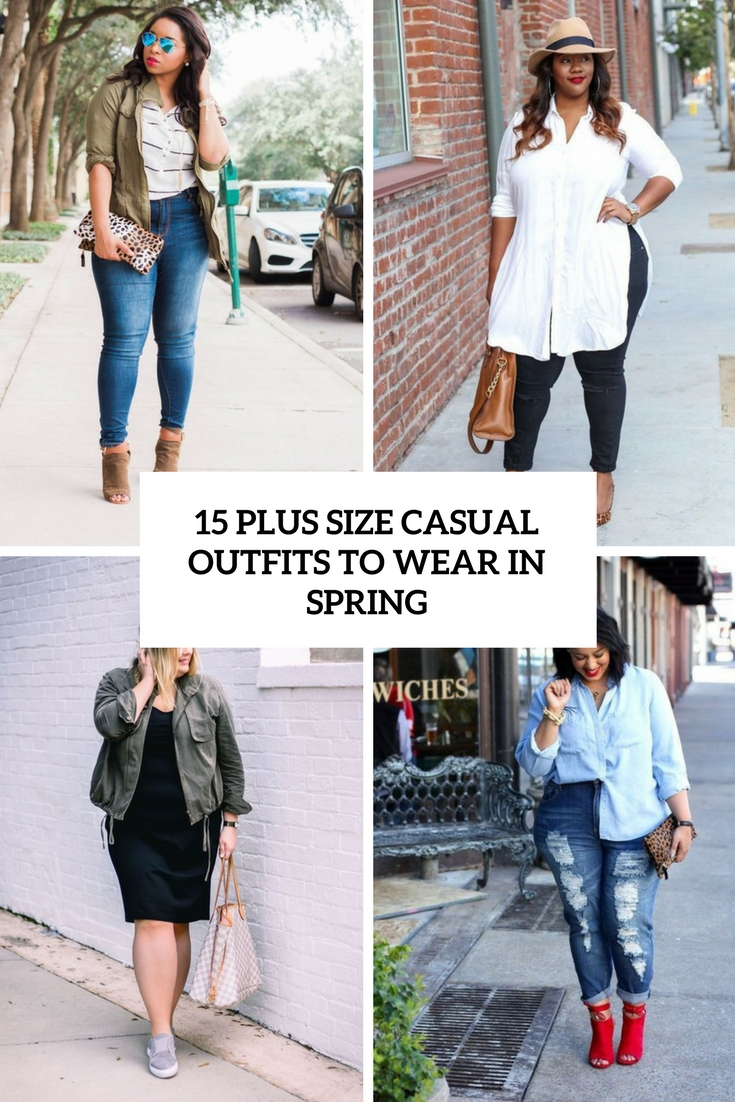 plus size outfits to wear in spring cover