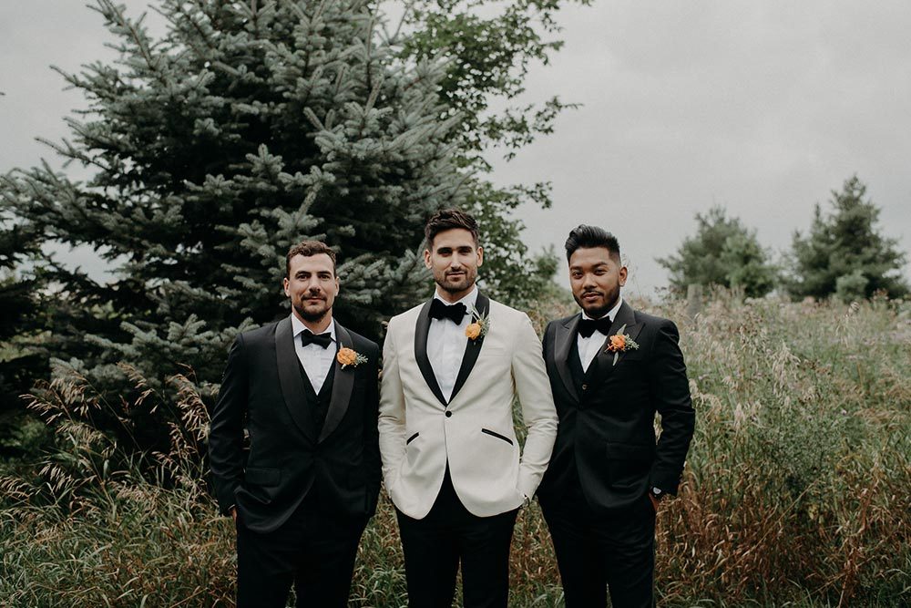 modern groomsmen fashion