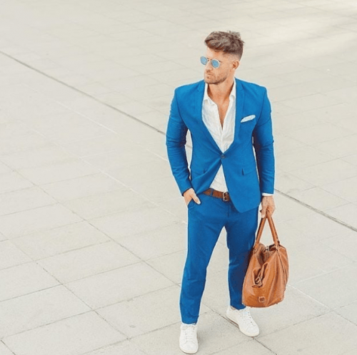 Blue-for-Semi-Formal-Style-on-Easter-Day-500x498 20 Fashionable Easter Outfit Ideas for Men