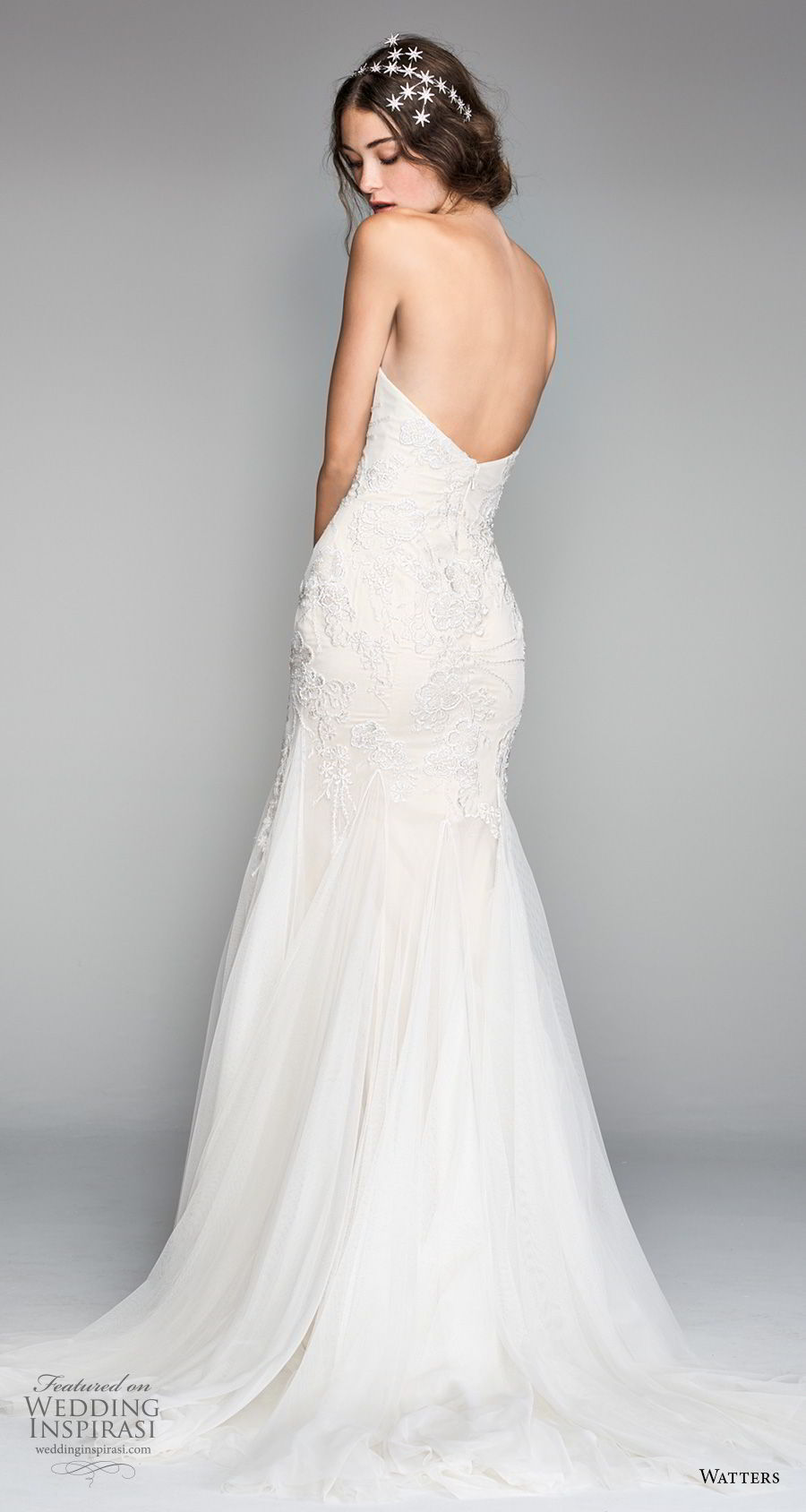 willow by watters spring 2018 strapless sweetheart neckline heavily embellished bodice romantic mermaid wedding dress sweep train (16) bv