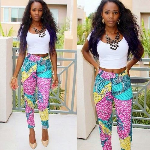 Ankara-Frocks-for-Teenies-500x500 20 Trendy Easter Outfits for Teen Girls 2018