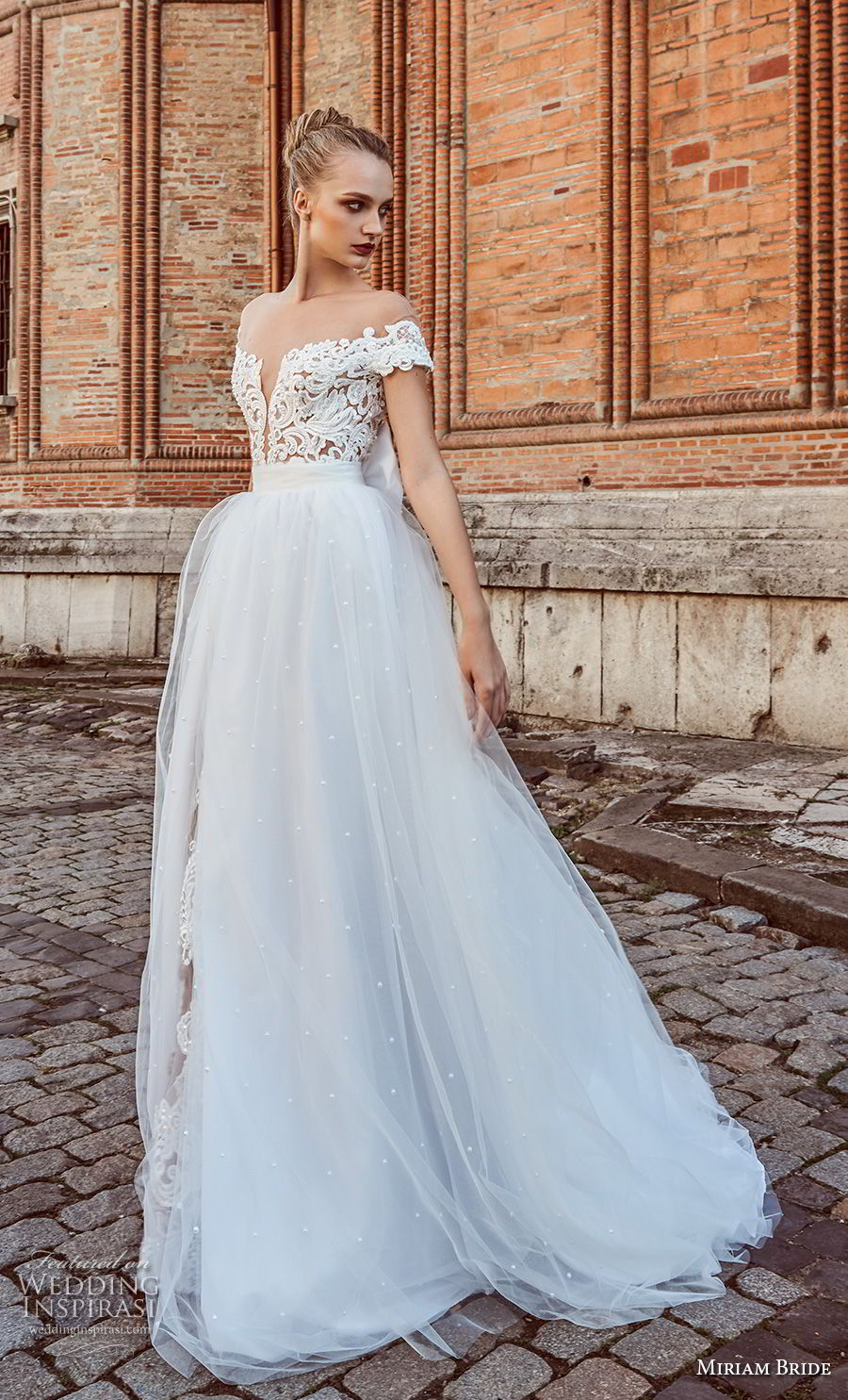miriams bride 2018 bridal off the shoulder deep plunging sweetheart neckline heavily embellished bodice princess romantic ball gown a line weding dress open back chapel train (7) mv
