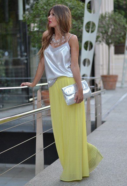 Yellow-Palazzo-Pants 28 Modern ways to Wear Palazzo Pants with other Outfits