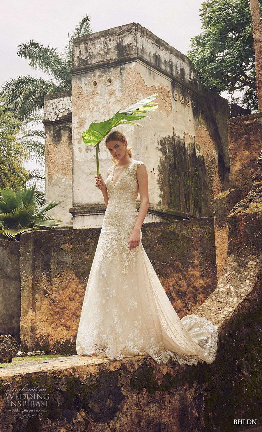 bhldn 2018 whispers bridal sleeveless thick strap v neck full embellishment romantic a line wedding dress keyhole back short train (12) mv