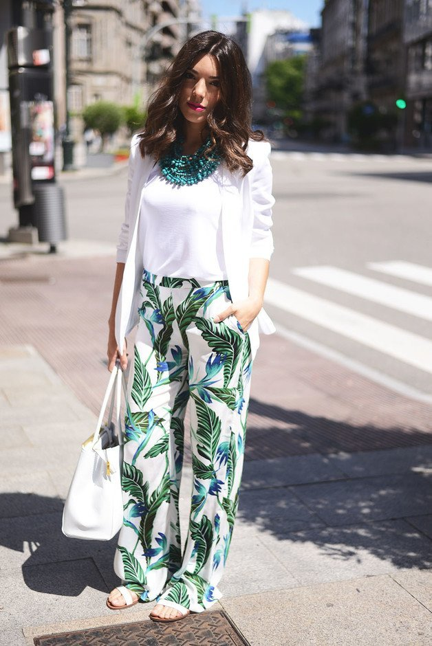 palazzo-pant-suit 28 Modern ways to Wear Palazzo Pants with other Outfits