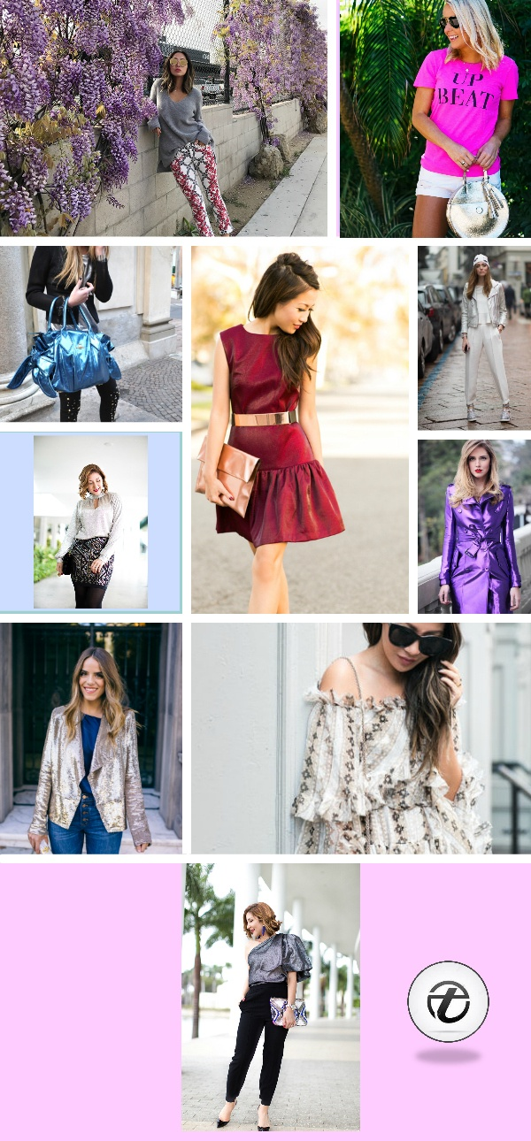 metallics-for-women 26 Best Ideas on How To Wear Metallic Outfits For Girls