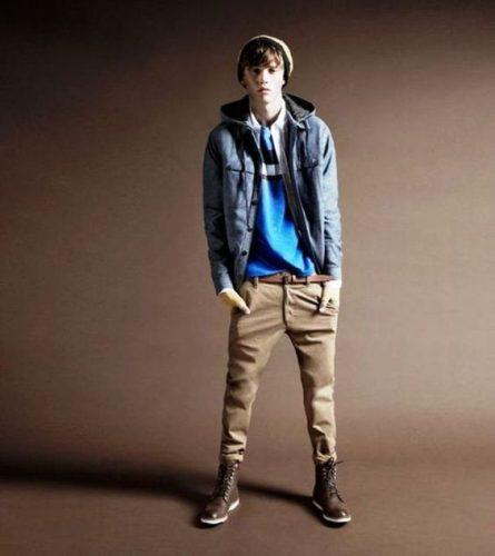 Khaki-Pants-for-Easter-Day--445x500 21 Cool Easter Outfits for Teen Guys 2018