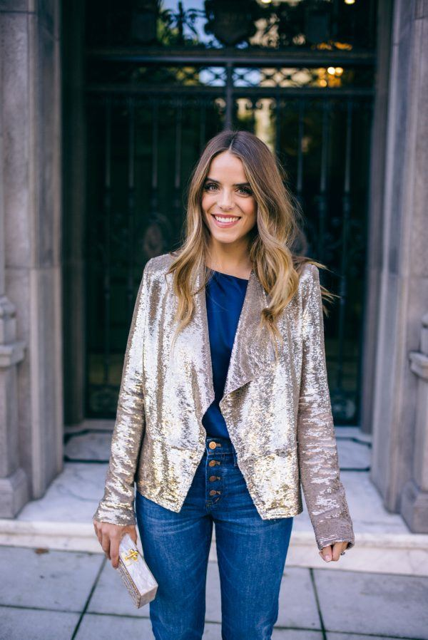 Women-Metallics9-600x898 26 Best Ideas on How To Wear Metallic Outfits For Girls