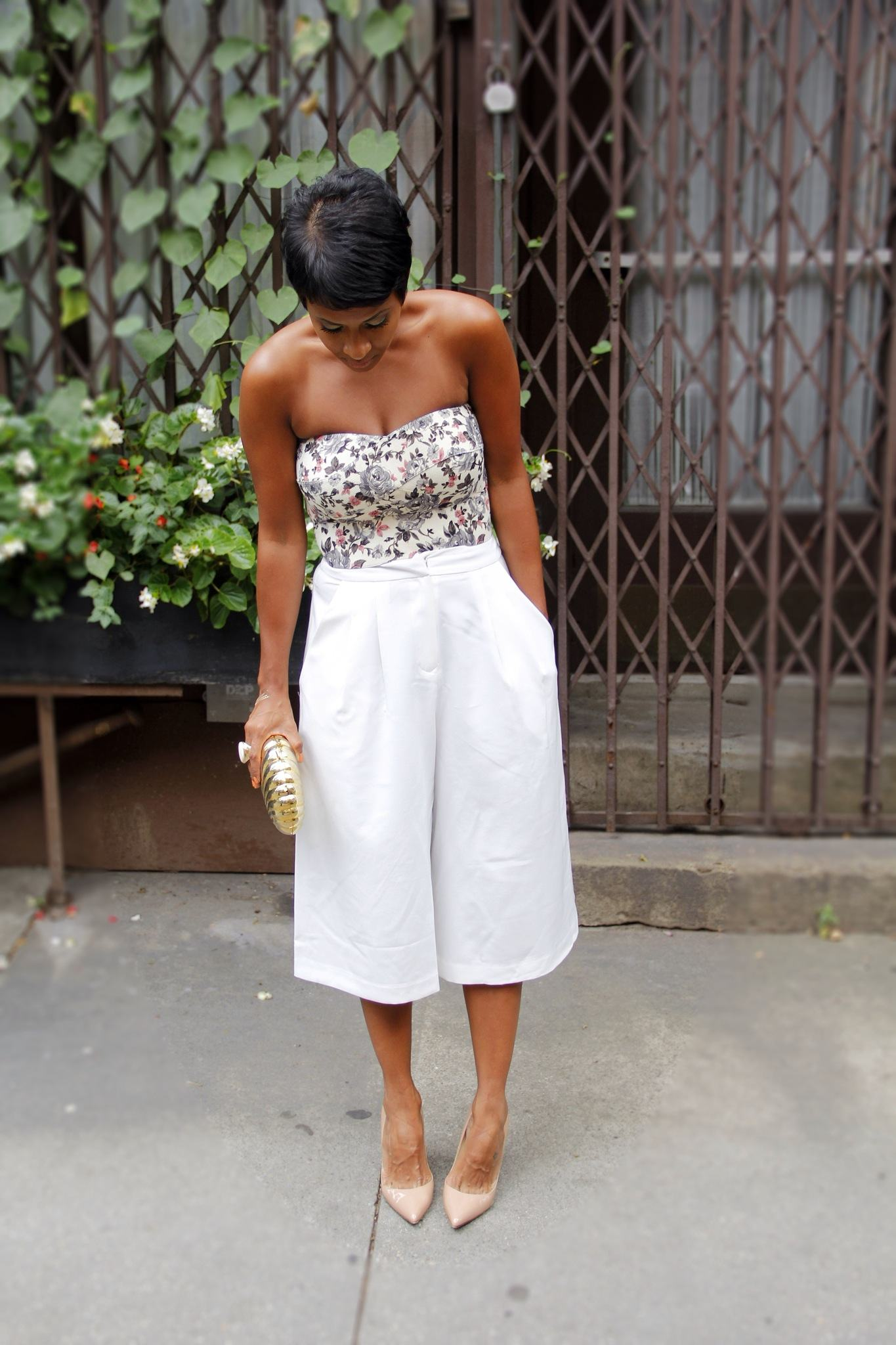 how-to-wear-cropped-palazzo-pants 28 Modern ways to Wear Palazzo Pants with other Outfits