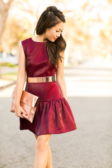 Women-Metallics4 26 Best Ideas on How To Wear Metallic Outfits For Girls