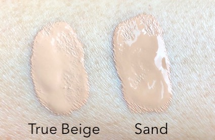 New Rimmel Lasting Finish Breathable Foundation swatches