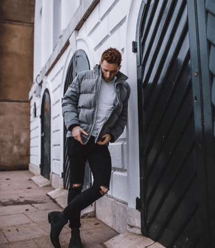 Wear-Bomber-Jacket-for-Easter-Party-433x500 21 Cool Easter Outfits for Teen Guys 2018