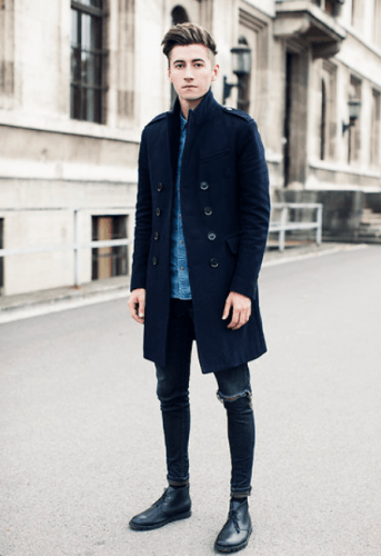 Wear-an-Overcoat-for-Style-343x500 21 Cool Easter Outfits for Teen Guys 2018