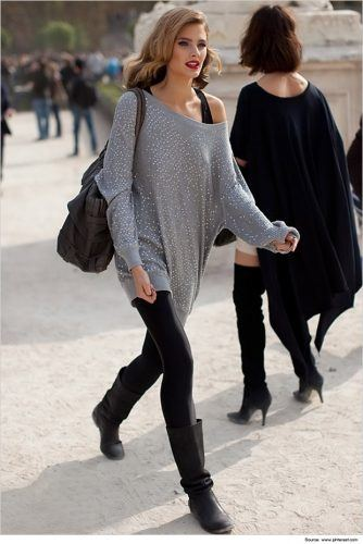 tights-outfit.jpg00-334x500 Footless Tights Outfits–18 Ideas How to Wear Footless Tights