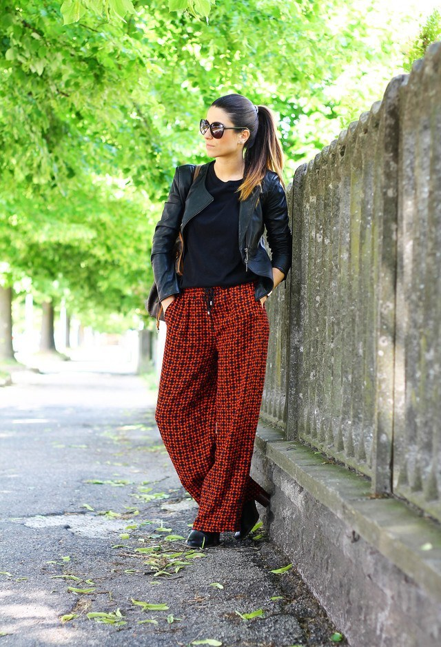 Latest-Palazoo-Pants-Fashion 28 Modern ways to Wear Palazzo Pants with other Outfits