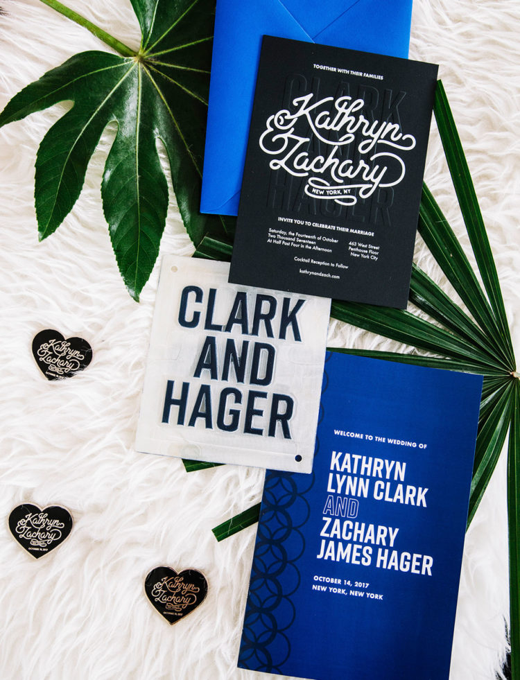 The bride designed their wedding invitations herself, the colors were vibrant just like the whole wedding