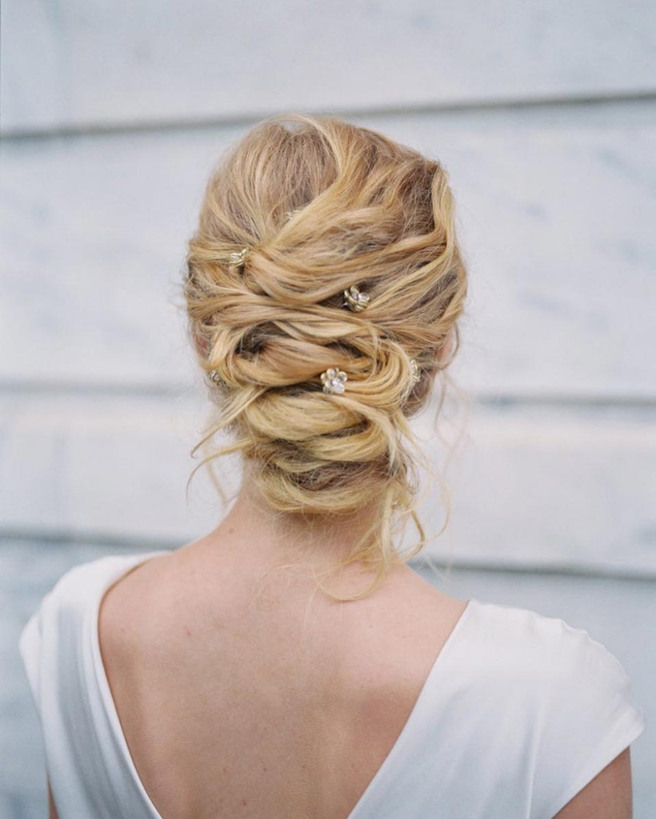 braided wedding updo