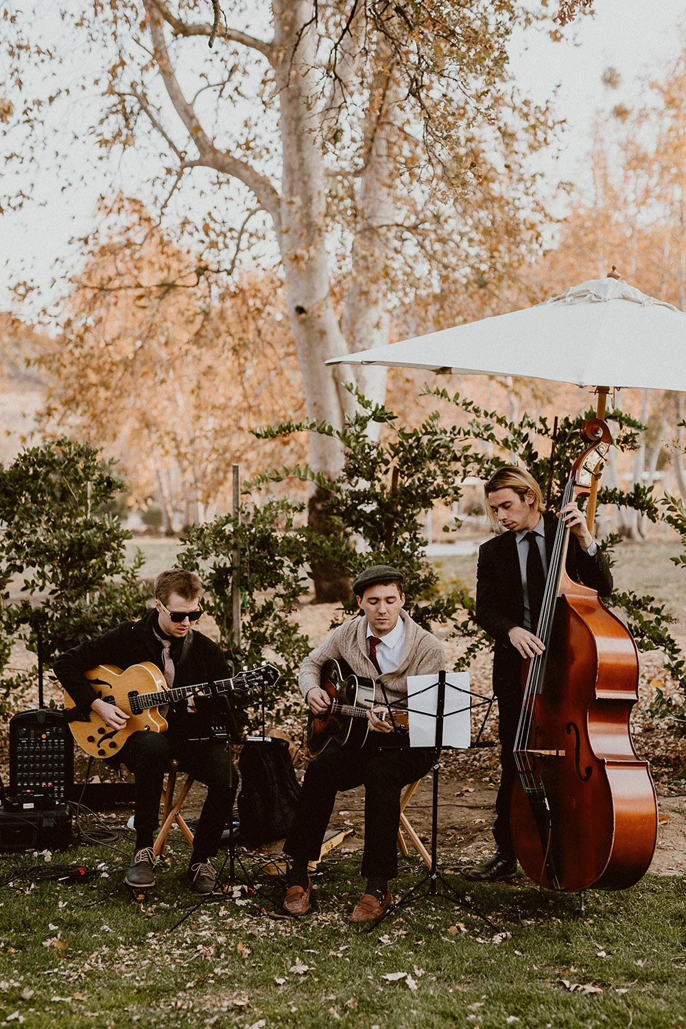 wedding music trio