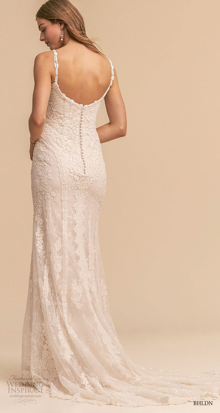 bhldn 2018 whispers bridal sleeveless thin strap sweetheart full embellishment elegant romantic sheath wedding dress sweep train (9) bv