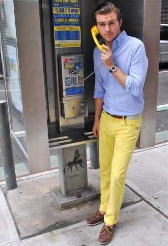 Wear-Colored-Pants-on-Easter-342x500 20 Fashionable Easter Outfit Ideas for Men
