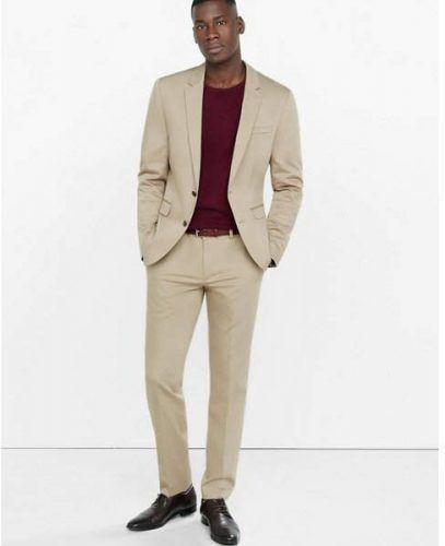Semi-Formal-Khaki-Look-with-Black-Shoewear-407x500 12 Pro Tips for Men-How to Wear Black Shoes With Khaki Pants