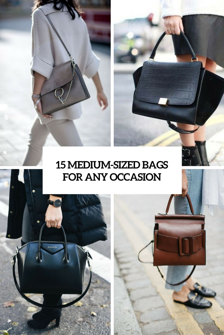 medium sized bags for any occasion cover