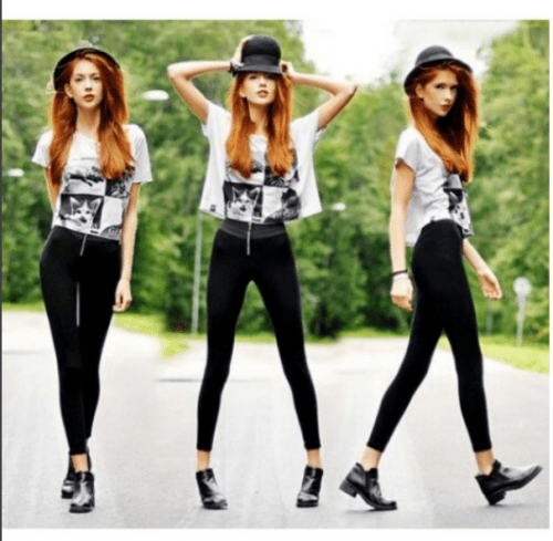 White-graphic-Tee-1-500x489 Graphic Tee Outfits - 20 Ideas How to Wear a Graphic Tee