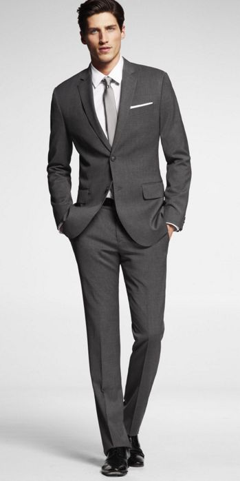 Charcoal-Suits-and-Black-Shoewear-for-Weddings 30 Best Charcoal Grey Suits with Black Shoes For Men
