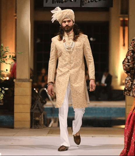 men-sherwani-designs-1 20 Latest Style Wedding Sherwani For Men and Styling Ideas