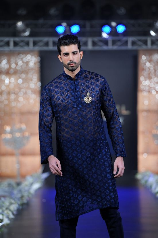 Models-in-Sherwani 20 Latest Style Wedding Sherwani For Men and Styling Ideas