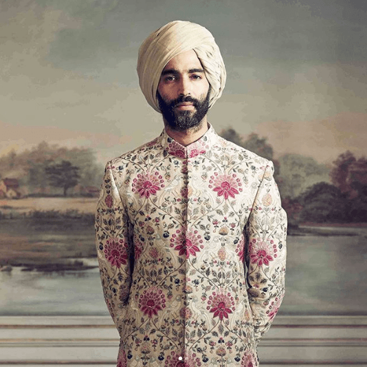men-sherwani-designs 20 Latest Style Wedding Sherwani For Men and Styling Ideas