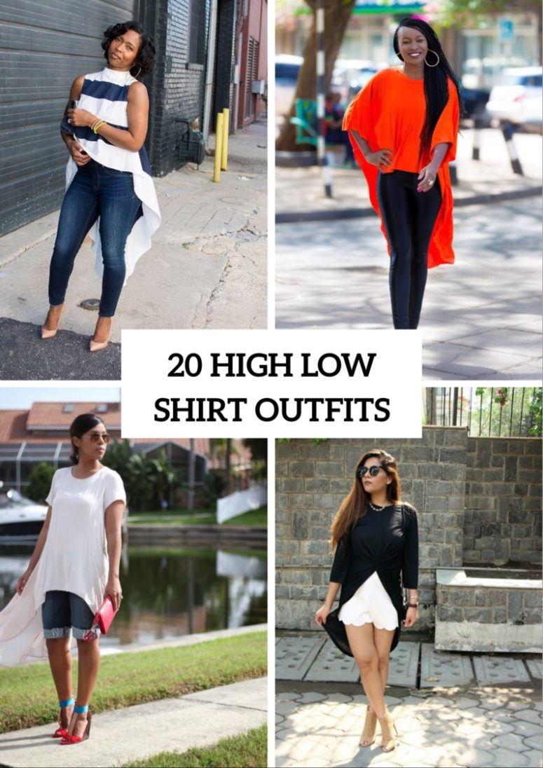 Awesome Outfits With High Low Shirts