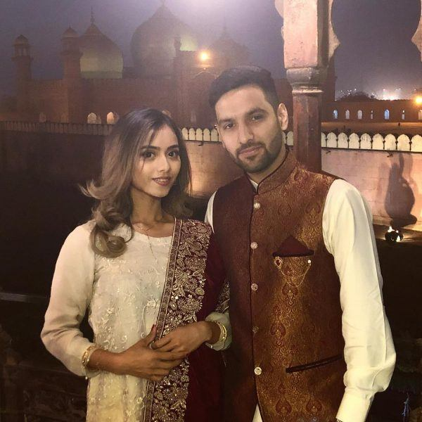 Zaid-Ali-T-and-Yumna-600x600 Celebrities Couples Matching Outfits–25 Couples Who Nailed It