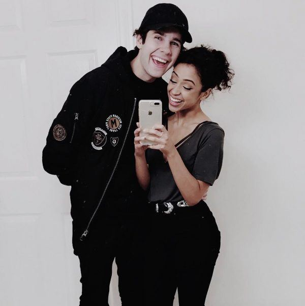 Liza-Koshy-and-David-Dobrik-600x601 Celebrities Couples Matching Outfits–25 Couples Who Nailed It