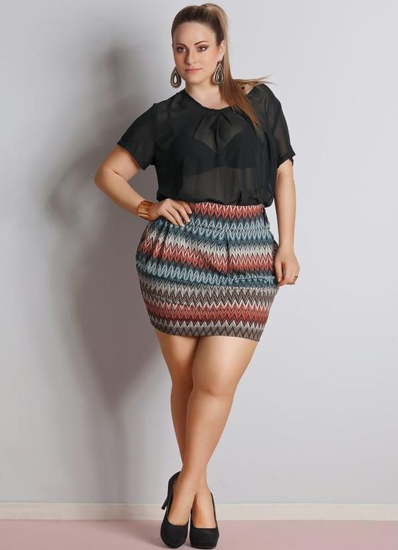 14-1 20 Ideas on How to Wear High Waisted Shorts for Plus Size Women