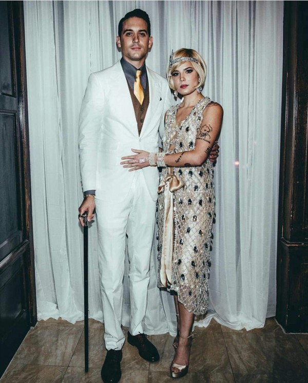 Halsey-and-G-Eazy-600x746 Celebrities Couples Matching Outfits–25 Couples Who Nailed It