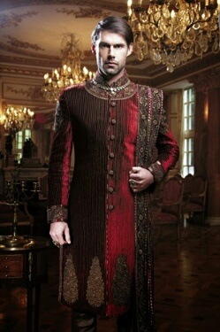 sherwani-for-men-snapdeal 20 Latest Style Wedding Sherwani For Men and Styling Ideas