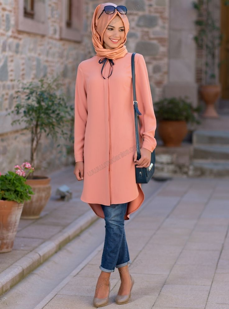 Muslim-women-fashion 30 Stylish Ways to Wear Hijab with Jeans for Chic look