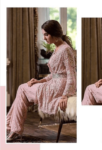 wedding-kurta-pajama 25 Best Women Kurta Pajama for Wedding Styles 2018
