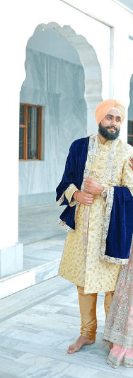 men-wedding-sherwanis-1 20 Latest Style Wedding Sherwani For Men and Styling Ideas