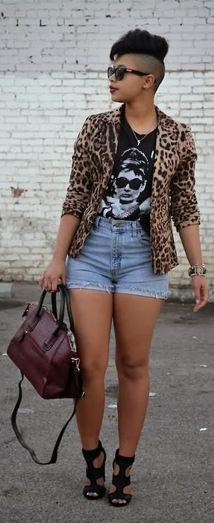 20-1 20 Ideas on How to Wear High Waisted Shorts for Plus Size Women