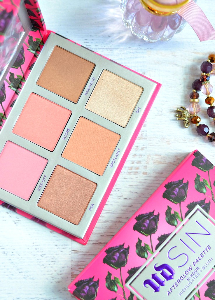 Urban Decay Sin Afterglow Highlighter Palette
