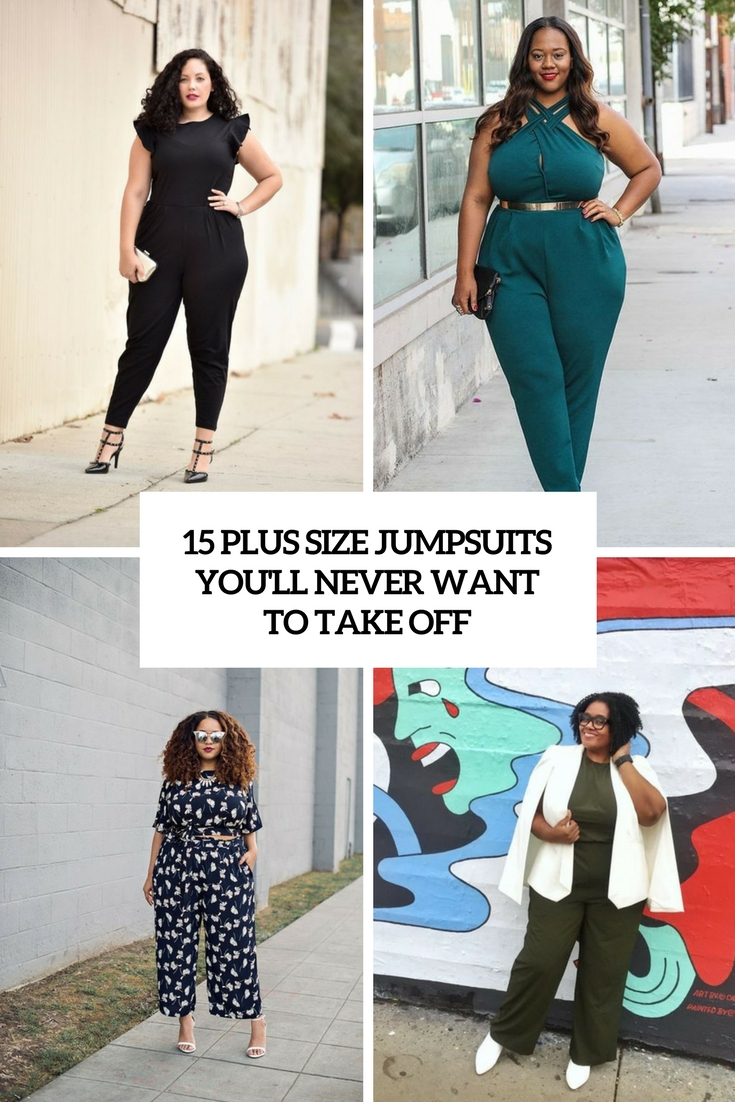plus size jumpsuits you'll never want to take off cover